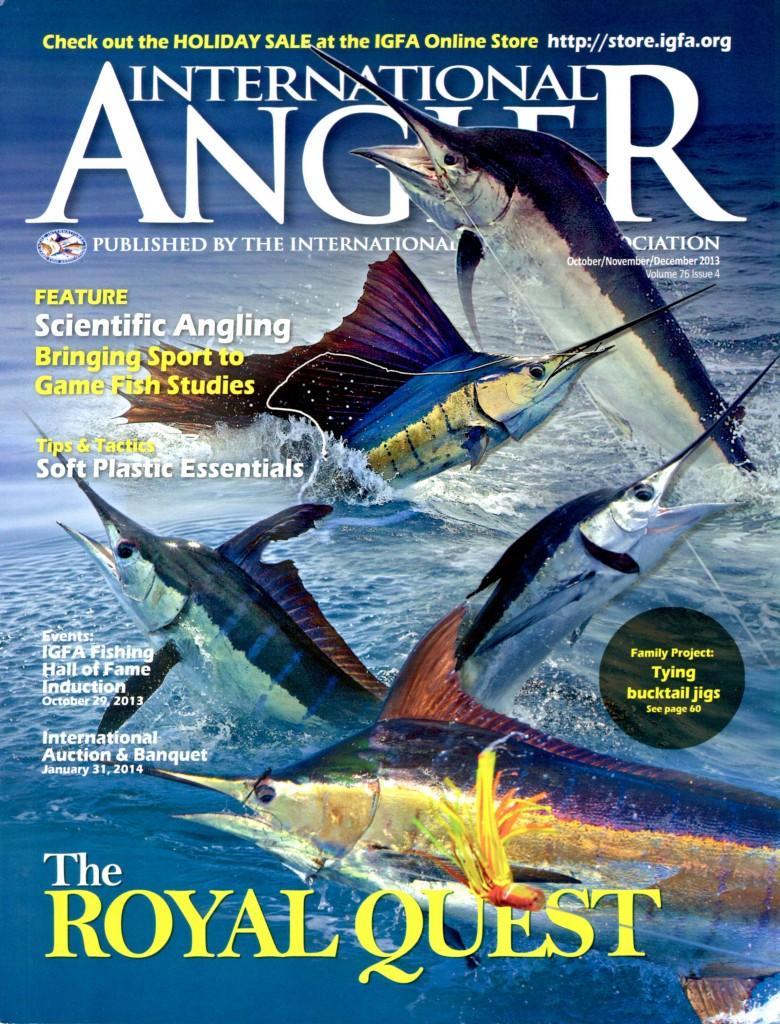 International Angler Cover