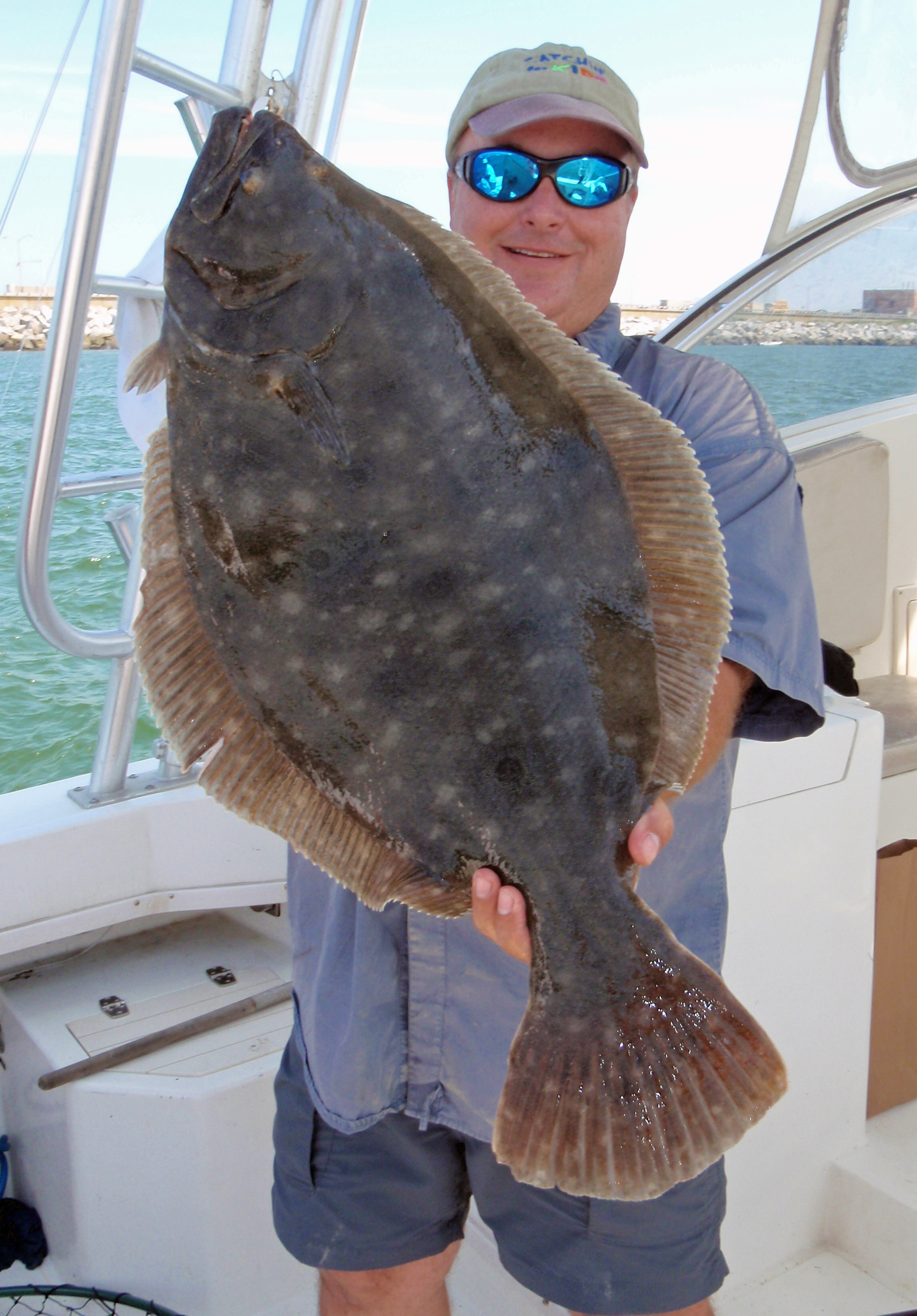 Winning flounder strategies healthy grin sport fishing for Larry king fish oil